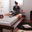 小さめベッド 北欧デザインベッドNiels