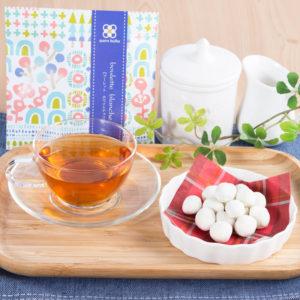 洋風豆菓子と紅茶のプチギフト キャトルクローバー