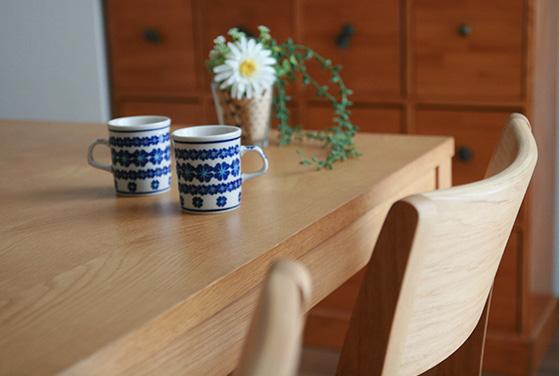 ダイニングテーブルのメリット:部屋がおしゃれに見える